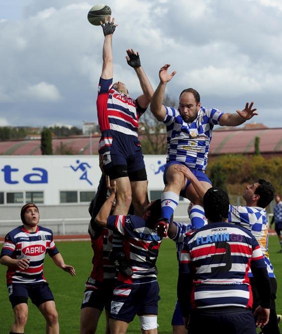 Rugby en A Malata Rugby Ferrol contra Campus Ourense /