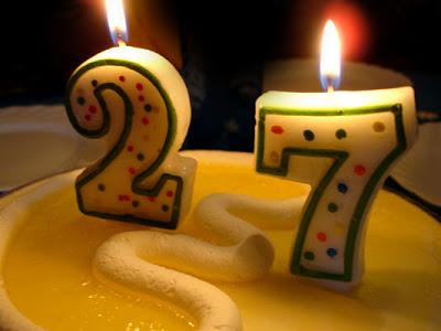 27 velas