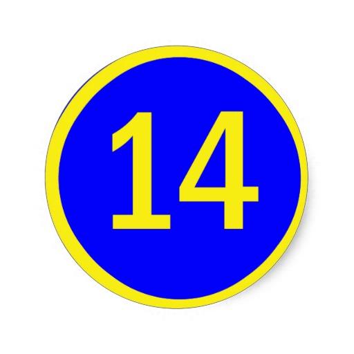 numero_14_en_un_circulo_pegatina-r2ffb026647ff483e8fb1ed209a9f0cf0_v9waf_8byvr_512