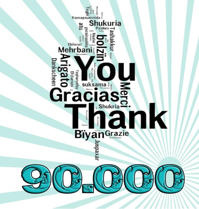 Resultado de imagem para 90.000 visitas