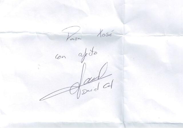 autografo david cal